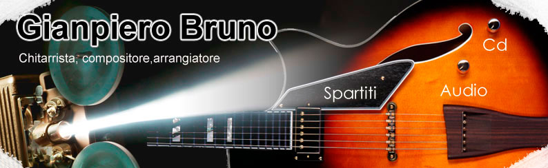 Gianpiero Bruno chitarra moderna rock,jazz,blues