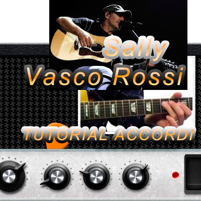 Vasco-Rossi-Sally tutorial-accordi